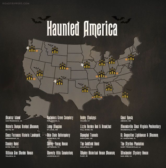 real haunted places - Halloween Haunted Places