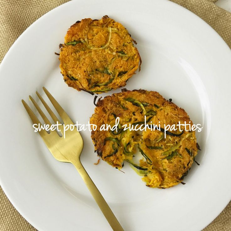 Lisa loves John: Sweet Potato and Zucchini Patties