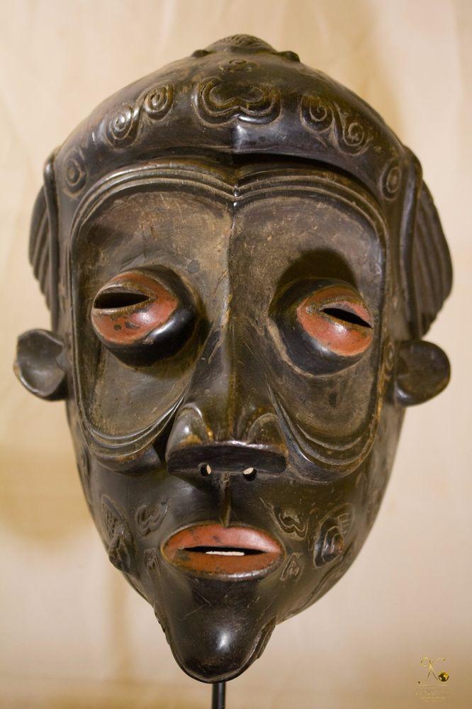 Luluwa (Lulua) Mask-Congo DRC-Mukishi