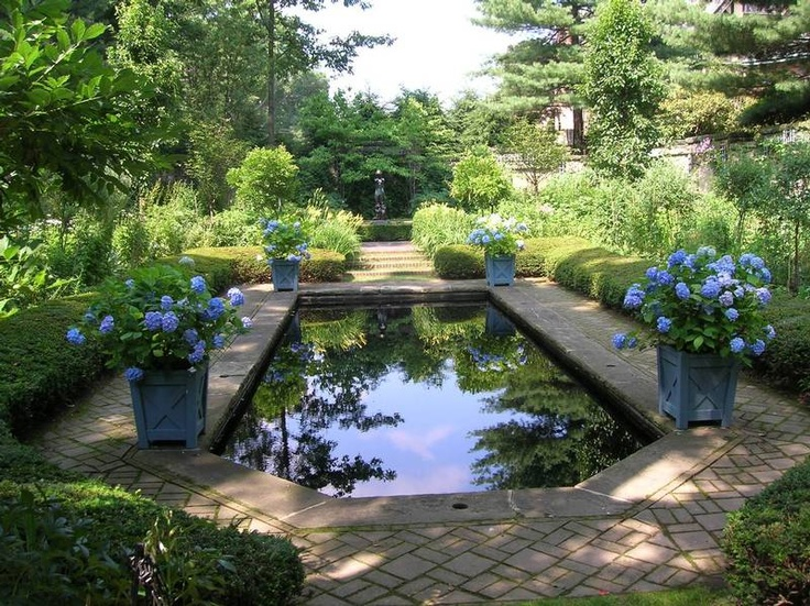 1000 images about stan hewitt hall on pinterest gardens for English garden pool