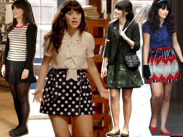 Beauté à ne pas rater: Look Jessica Day : New Girl