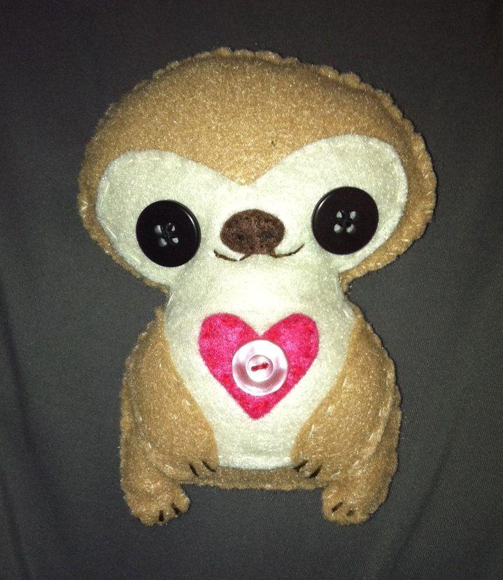 Shelby Sloth by cpalmeno on Etsy, $12.00