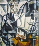 The Pianist  by Lyubov Popova
