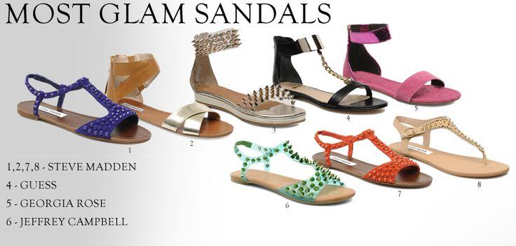 Najmodniejsze modele wygodnych sandałów na płaskiej podeszwie, na długie, letnie spacery. Które najbardziej się Wam podobają?   /Trendiest models comfortable sandals on long summer walks. Which is most like you?  http://glamstorm.com/en/fittingroom/clothes/c/sandals#cat_57