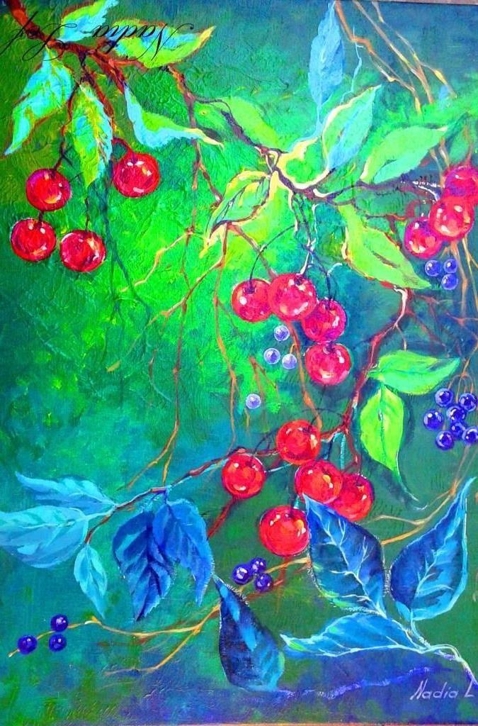 Berries Painting