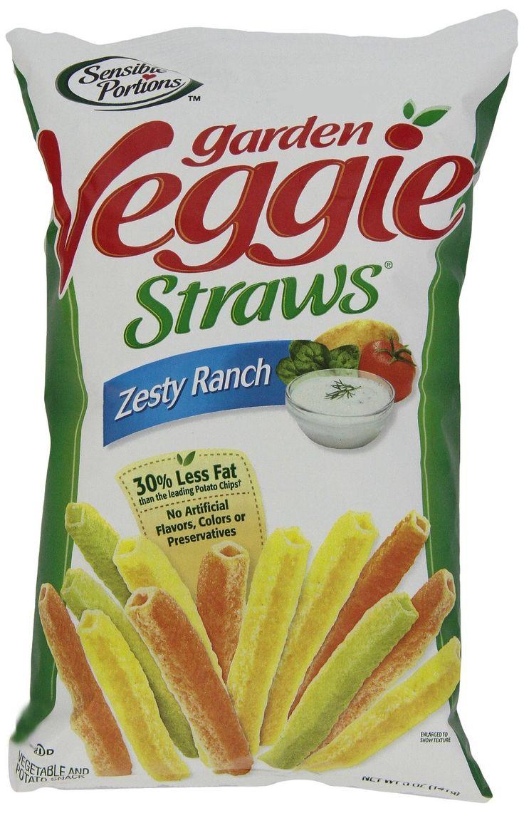 SENSIBLE PORTIONS: Garden Veggie Straws Zesty Ranch, 5 oz