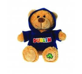 """8"""" Teddy with I Shamrock Dublin Hoodie"""