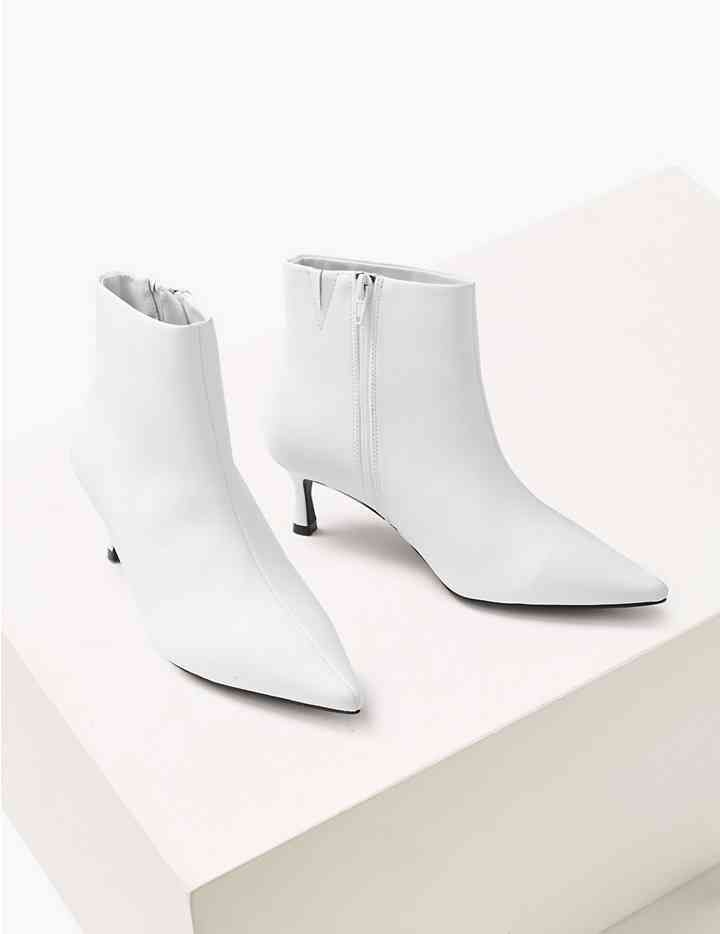 big discount quality attractive price Wide Fit Kitten Heel Ankle Boots | ♛ Smart Casual ♛ To Buy ...