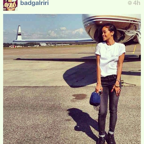 #RihannaforRiverIsland black wash slim jeans