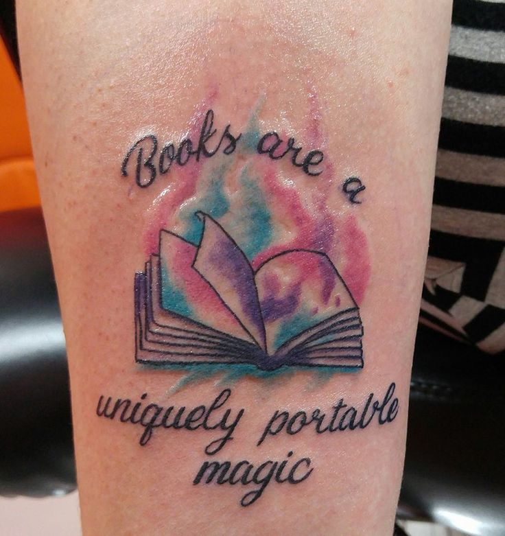 Best 25+ Book Inspired Tattoos Ideas On Pinterest