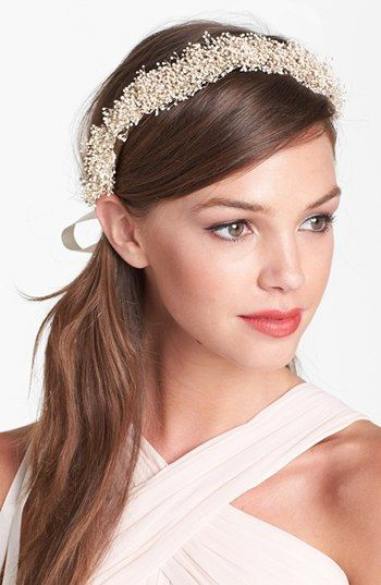 Whichgoose Baby's Breath Crown | Nordstrom Wedding Suite