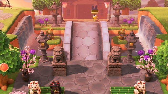 Animal Crossing Entrance Island