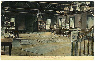 East-Aurora-NY-Roycroft-reception-room-circa-1908