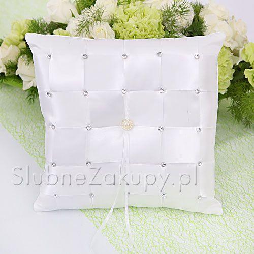 PODUSZKA na obrączki Diamonds #slub #wesele #sklepslubny #slubnezakupy #dekoracje