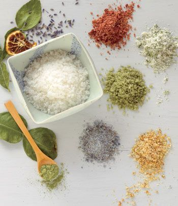 Flavoured Salts DIY...open link for recipes
