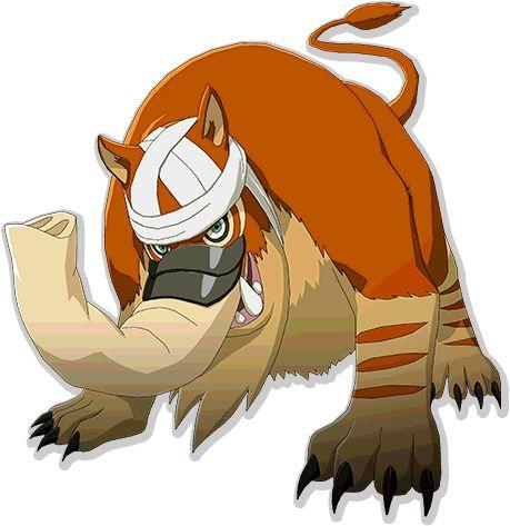 Baku (Summon of Danzo) render Naruto Mobile by ...