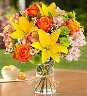 a variety of mixed bouquets here...just for ideas!