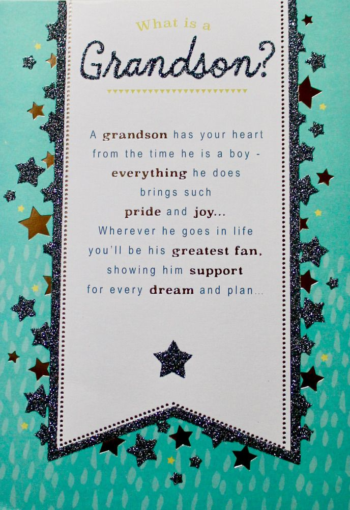 What Is A Grandson Birthday Greetings Card Envelope Stars Message Inside Hallmark Grandson Birthday Cards Birthday Greeting Cards Greeting Card Envelope