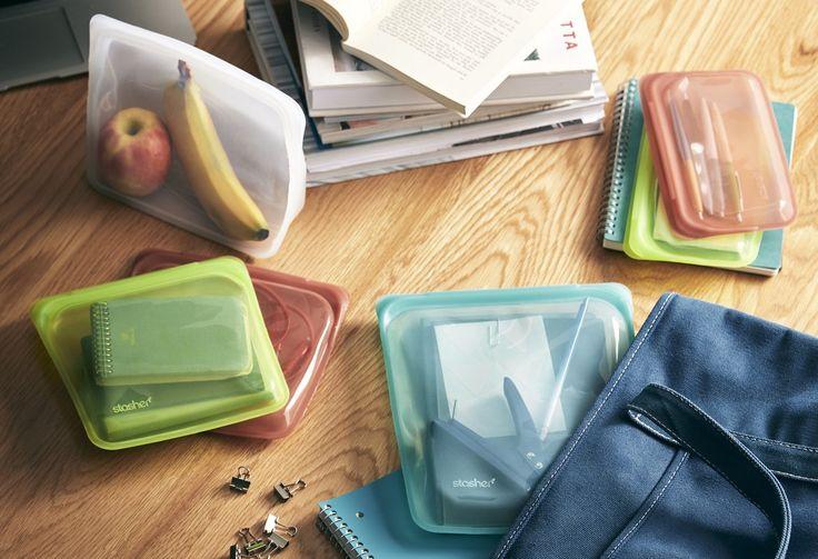 Reusable Silicone Bags | Reusable Snack, Sandwich ...