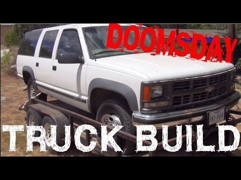 Ultimate Doomsday Survival Truck Build (Part One) With EVERLAST Welders! - YouTube