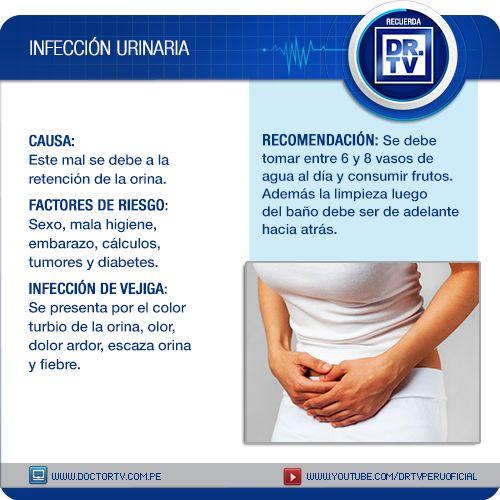 Si siente ardor al orinar podría tratarse de una seria infección urinaria.