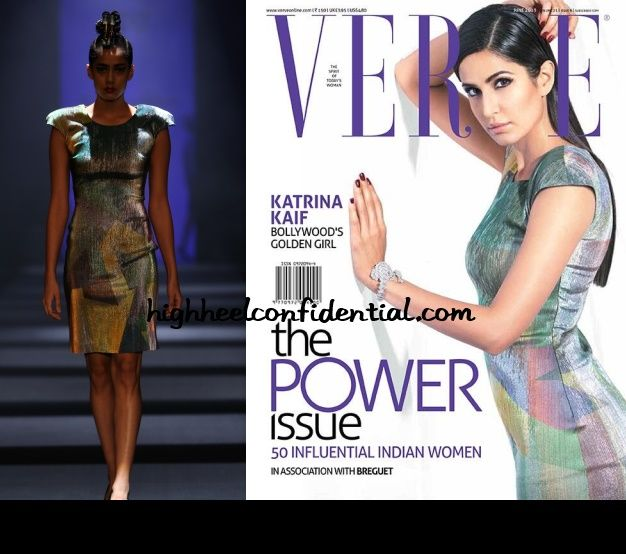 Katrina Kaif, Verve June 2013. Our #Nakshatra #Diamonds girl looks great! #katrinakaif