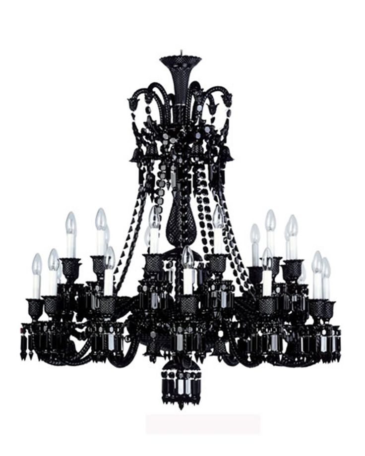 luxury crystal chandelier for interior lighting design ideas by philipe starke zenith. Black Bedroom Furniture Sets. Home Design Ideas