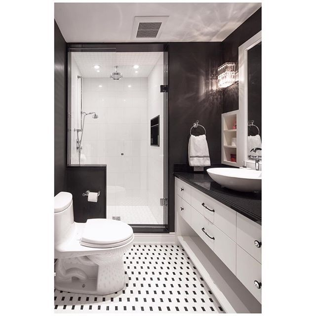 A classic black and white bathroom for my clients oldest child, a tween. This lovely young lady was more excited about her new bedroom and bathroom than any young person I've worked with before. A well travelled young lady whose love for Paris directed th