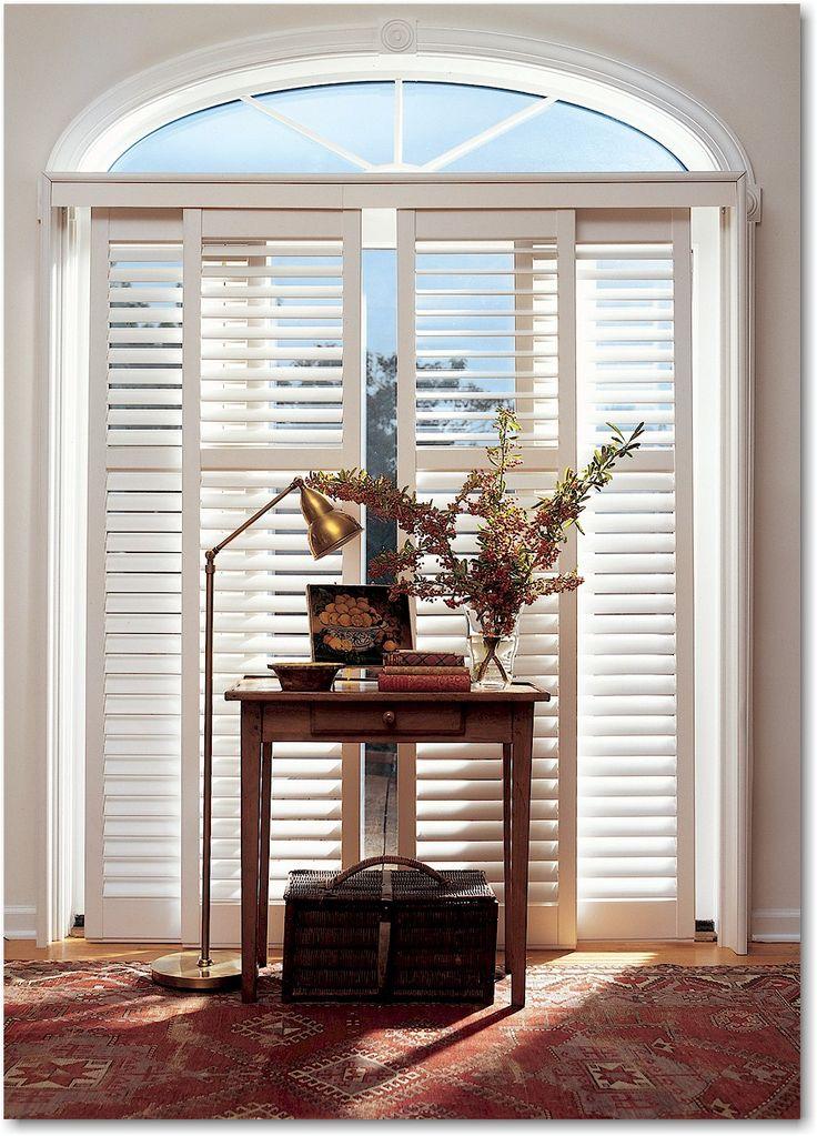 76 best images about plantation shutters on pinterest - Hunter douglas interior shutters ...