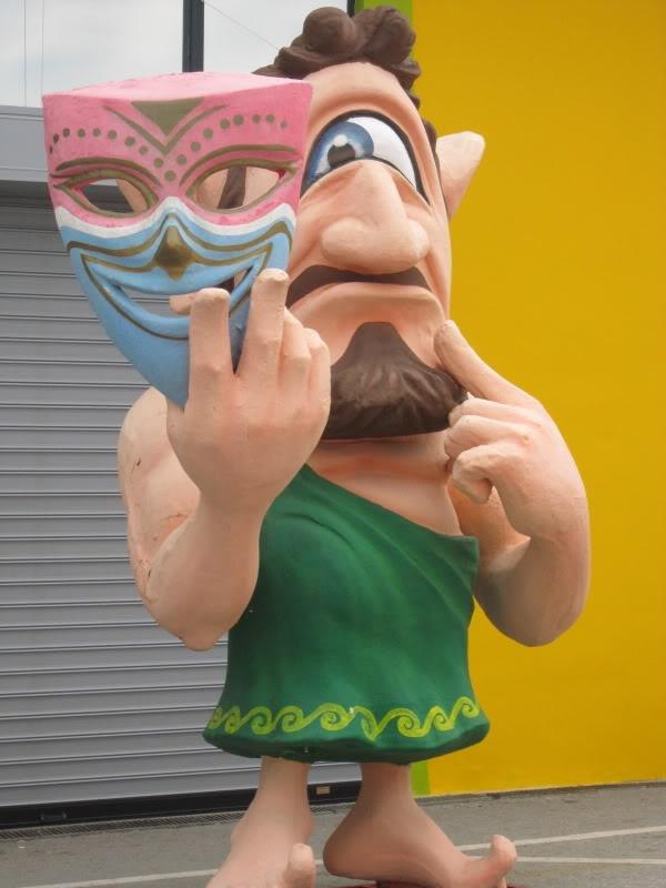 A Cyclopean Conundrum at #Patra's carnival