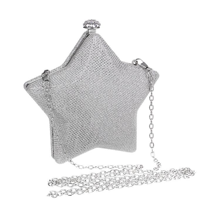 European leather star diamonds clutch evening bags mini small purse bags for evening bag