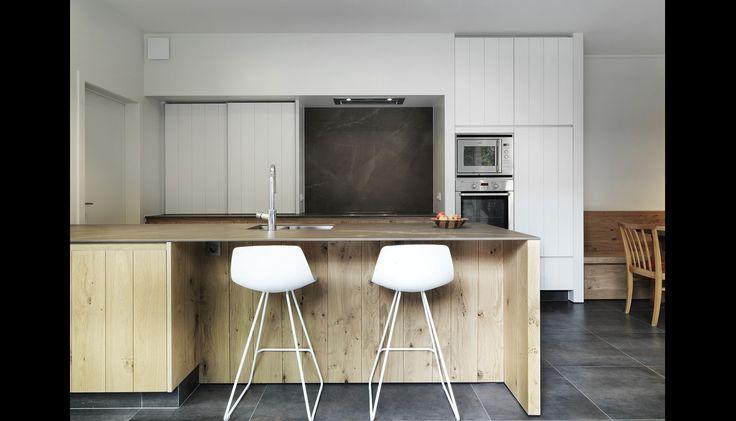 25 beste idee n over modern landelijke keukens op - Model keuken apparatuur fotos ...