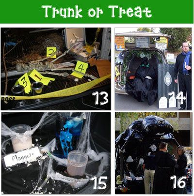 16 outrageous halloween pictures of decorated cars tip junkie - Halloween Trunk Or Treat Decorating Ideas