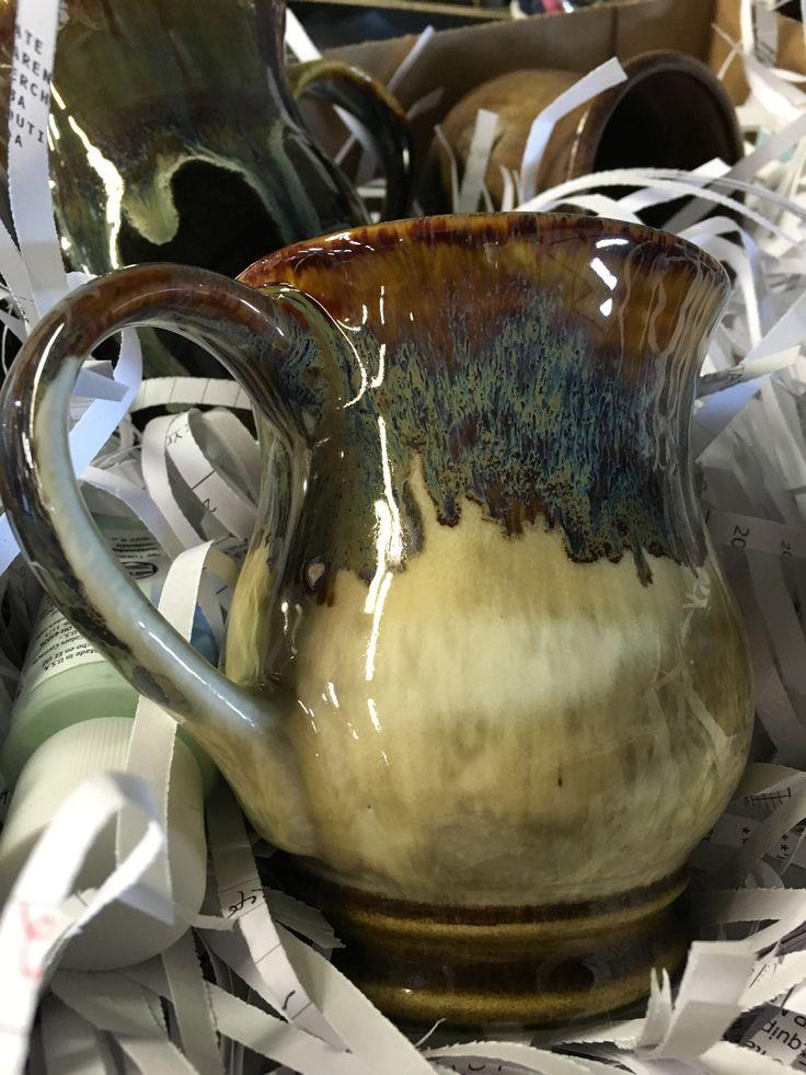 Amaco Glaze Combination. Mug #1 The Oatmeal was a little hard to work with.