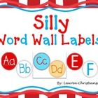 "This download is perfect for circular alphabet headers for your Aqua and Red Silly themed word wall and two versions of ""Word Wall"" to use as a Wor..."