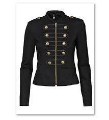 Resultado de imagen para chaquetas corte militar mujer