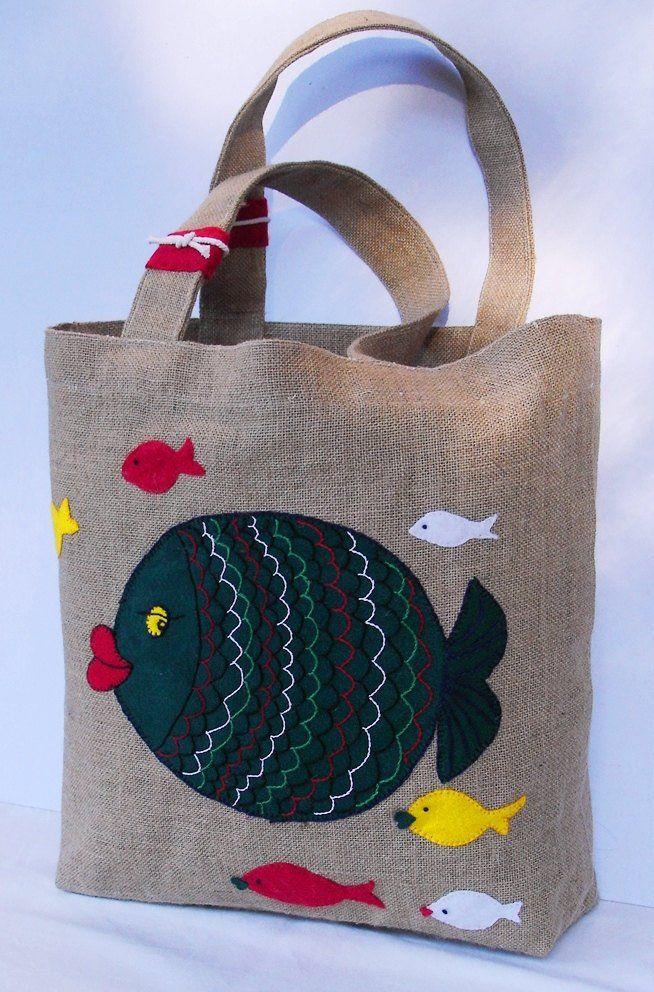 Несложные hand made идеи Красивые сумки с аппли…