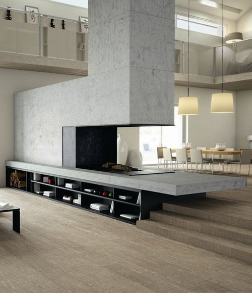 #architecture #design #interior design #fireplaces #living rooms #style #modern #contemporary