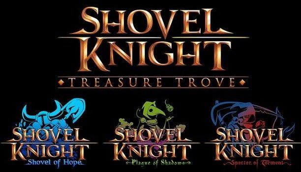 Yatch Club Games ha anunciado novedades acerca del exitoso Shovel Knight. Los que aún no tienen el juego podrán comprar las campañas del mismo por separado en Xbox One PC PlayStation 4 y como se acaba de confirmar Nintendo Switch. Debido a esto el nombre del juego ha sido cambiado a Shovel Knight: Treasure Trove.  Las campañas también han sido rebautizadas: la campaña original de Shovel Knight será ahora llamada Shovel Knight: Shovel of Hope la campaña de Plague Knight ahora se llamará…