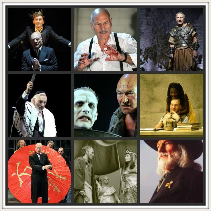 Patrick Stewart in Shakespeare