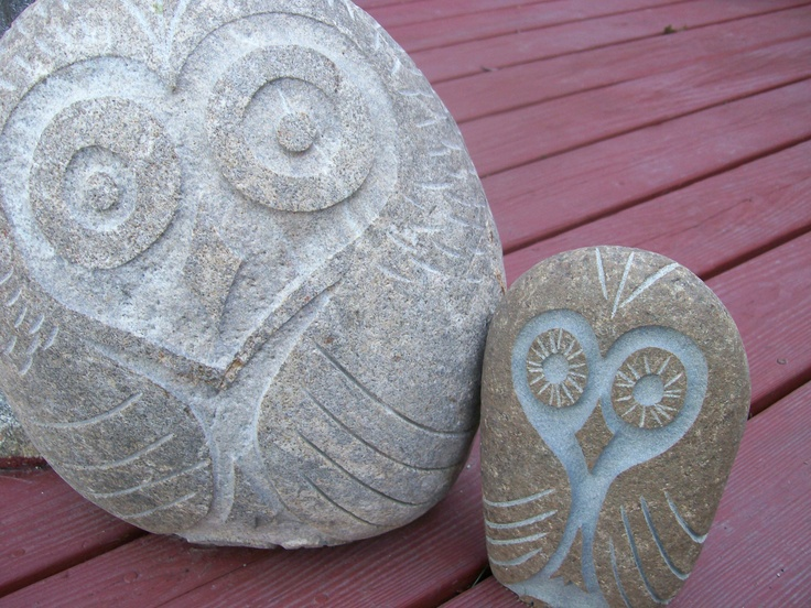 Stone owls 2012