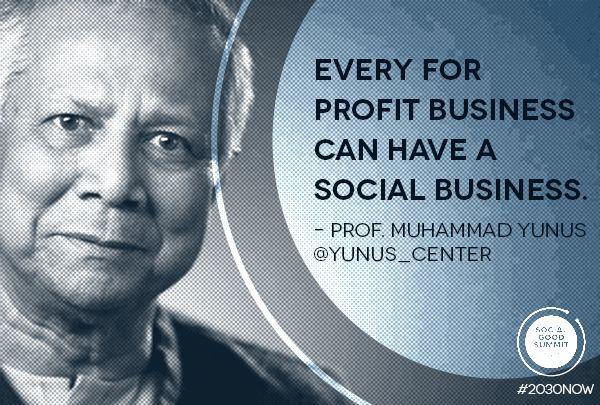 Dr. Muhammad Yunus #2030Now