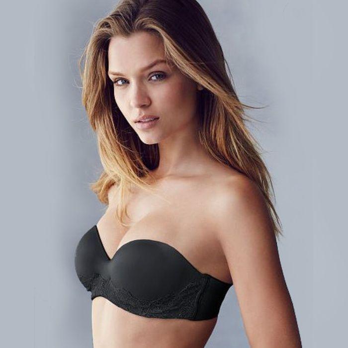 The Ten Best Black Strapless Bras//#3 Victoria's Secret Body By Victoria Multi-Way Bra