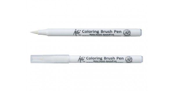 Als eerste in Nederland bij PenStoreInformatieDe Koi Blender is het beste instrument voor het mengen van kleuren en het creëren van kleurvervagingen.Zo gebruik je hem:Druk de punt van één of meerdere Koi Coloring Brush Pens tegen de punt van de Koi Blender. Zo stroomt de inkt van de