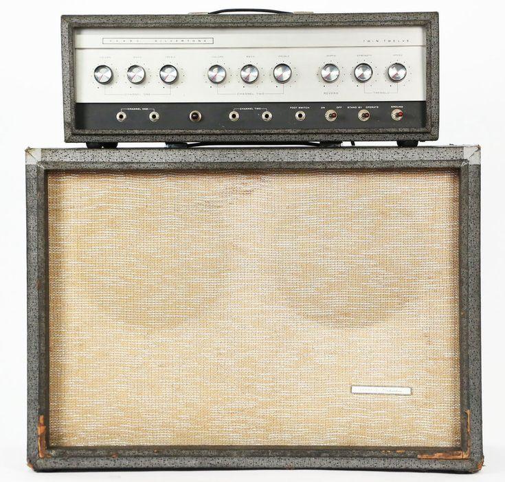 1964 silvertone 1484 twin twelve vintage electric guitar amplifier tube amp silvertone. Black Bedroom Furniture Sets. Home Design Ideas