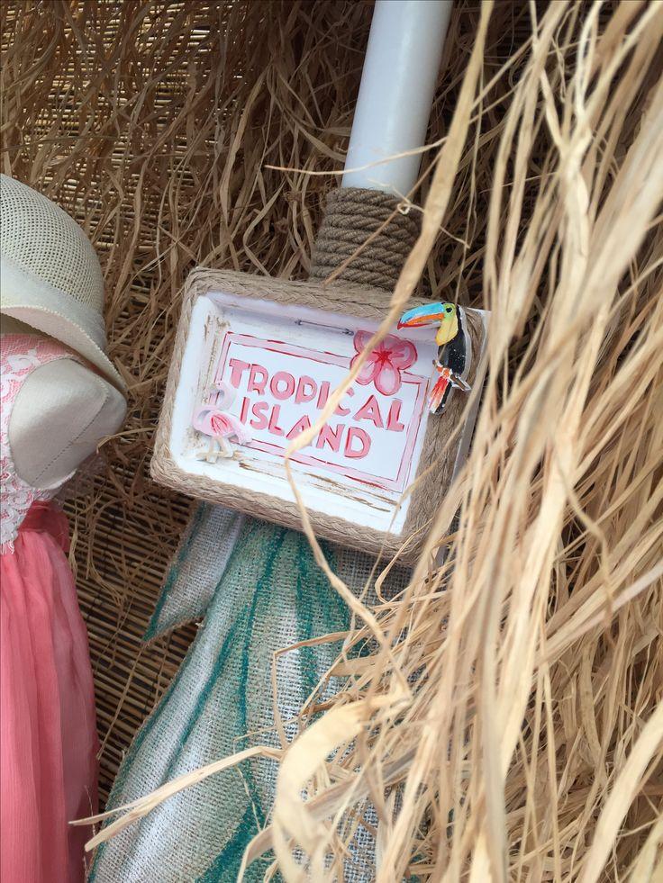 "Aloha!!! Nikolas Ker ""the store"" #aloha #summer #decoration #nikolas_ker #athens #greece #store #shop #vaptisi #vaftisi #baptism #tropical_island #flowers #flamingo"
