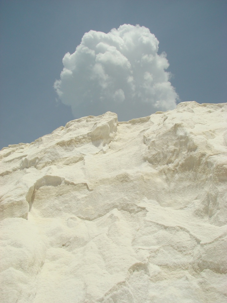 Salt mountain in Manaure, La Guajira - Colombia