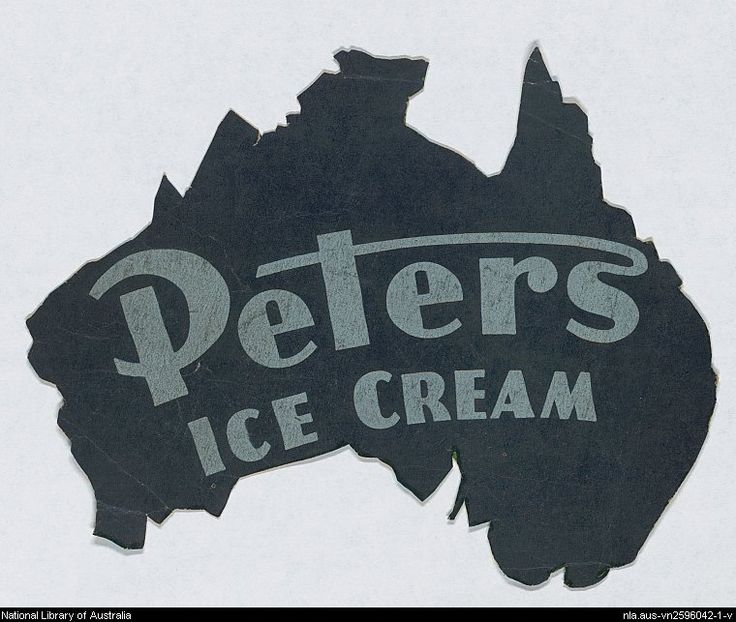 Peters Ice Cream - My Dad was a Delivery driver for Peters Ice Cream in the late 1940s & early 1950s