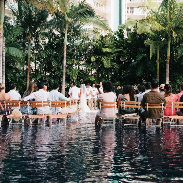 best beach wedding locations on budget%0A This boutique hotel in Waikiki offers an unusual setting  where guests can  dip their feet