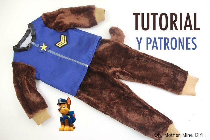 DIY Disfraz casero para niños de la Patrulla Canina   Manualidades